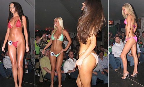 Hooters bikini contest tips