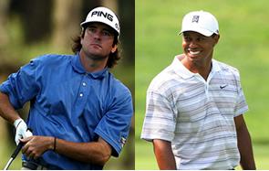 Tiger Woods & Bubba Watson