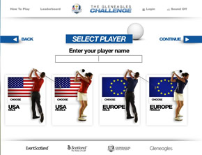 Visit Scotland Launch Gleneagles Mini Game Challenge 19th Hole The Golf Blog From Your Golf