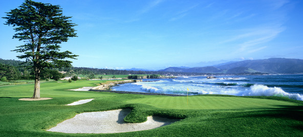 Pebble Beach 18th