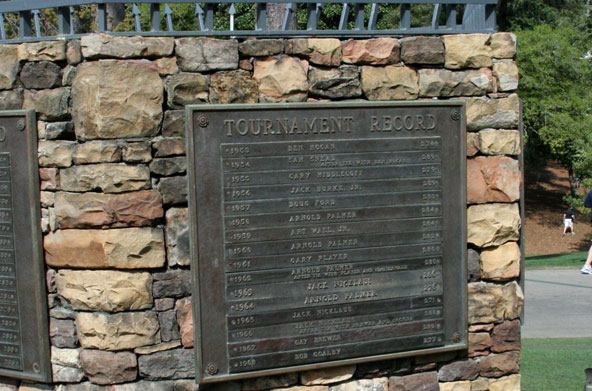 The Masters Tournament records