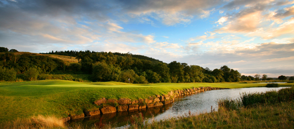 Celtic Manor 2010 14th hole