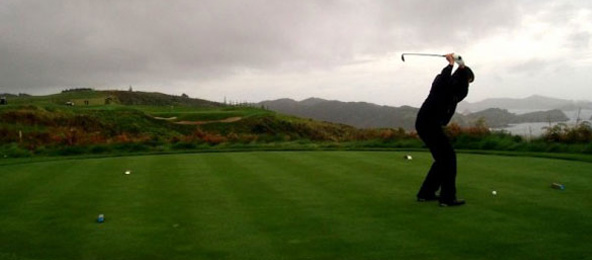 Kauri Cliffs 7th