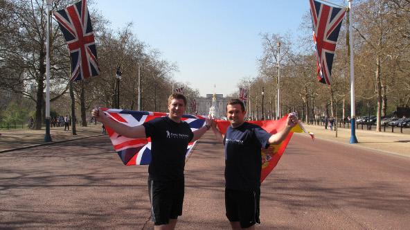 London Marathon Seve