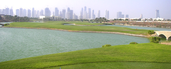 Montgomerie Dubai 18th