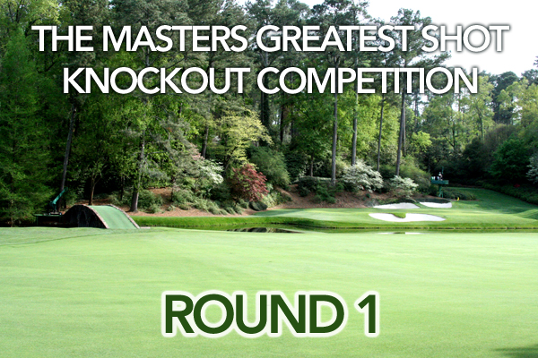 The Masters Greatest Shot Knockout Competition – Round 1