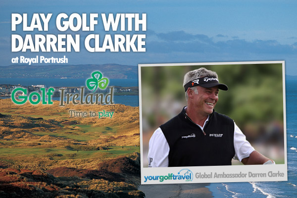 Play Golf with Darren Clarke