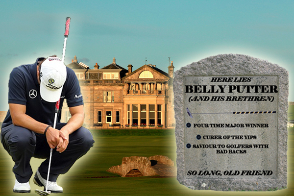 R.I.P Belly Putter (and his Brethren)