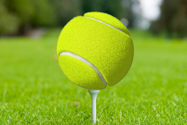 Top Tennis Players who hit the Fairways