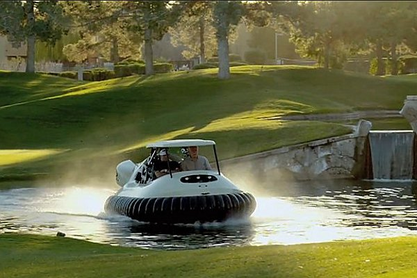 Drive It Like Bubba – American Golf Course To Use Hovercraft Golf Carts