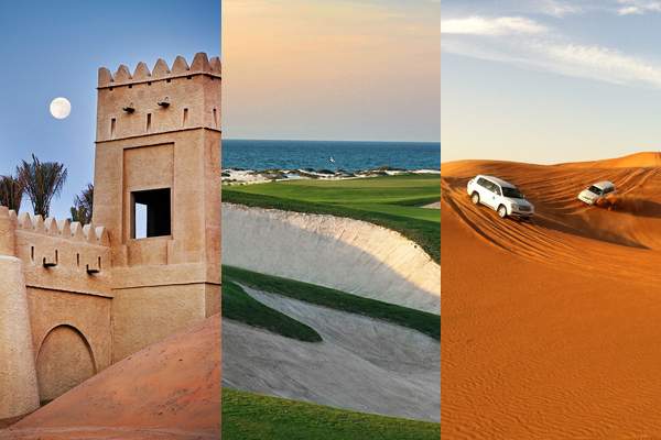 GO LONG to Abu Dhabi – Adventure on and off the Fairways