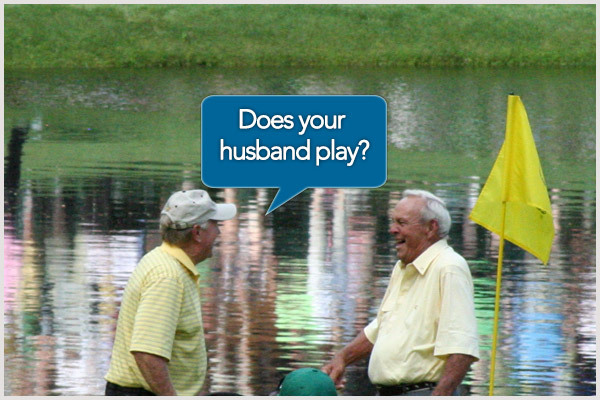 'Does your husband play?' – The Best Golf Sledges