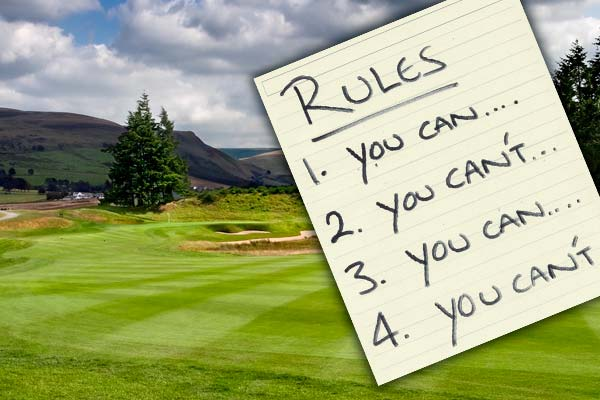rules-golf-golf