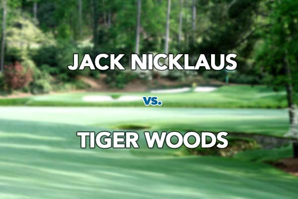 Greatest ever? Presenting the case for Jack and Tiger