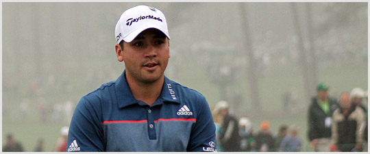 Jason Day at The Masters