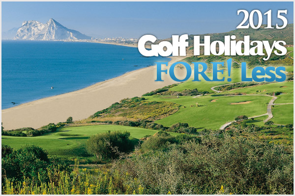 2015 golf holidays