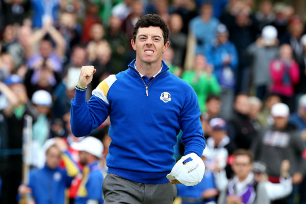 Rory McIlroy crowned Golfer of the Year