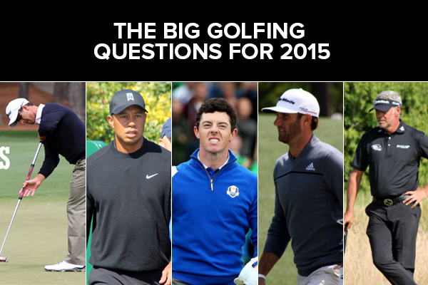 The biggest questions in golf for 2015