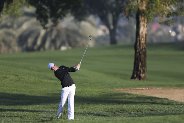 Rory McIlroy stakes claim for victory at at the Dubai Desert Classic