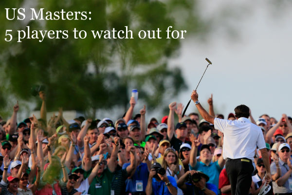 Five to watch at The Masters