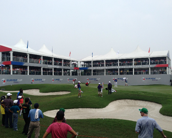 Nick's EurAsia Cup Experience