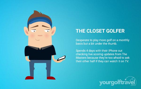 Closet Golfer