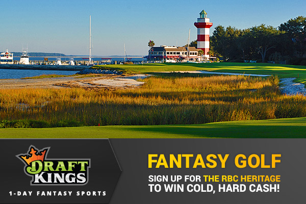DraftKings Fantasy Golf – Our Tips and Picks for The RBC Heritage