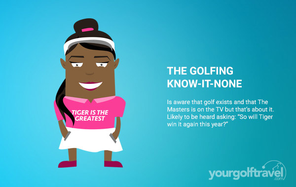 Golfing Know it None