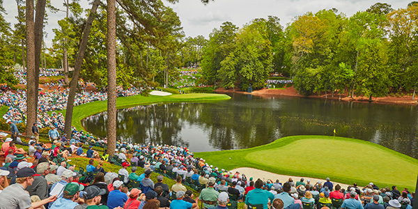 Ike's Pond at Augusta National