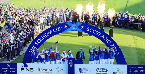 2019 Solheim Cup winners at Gleneagles