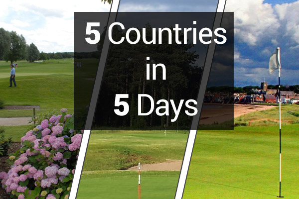 5 Countries in 5 days golf tour