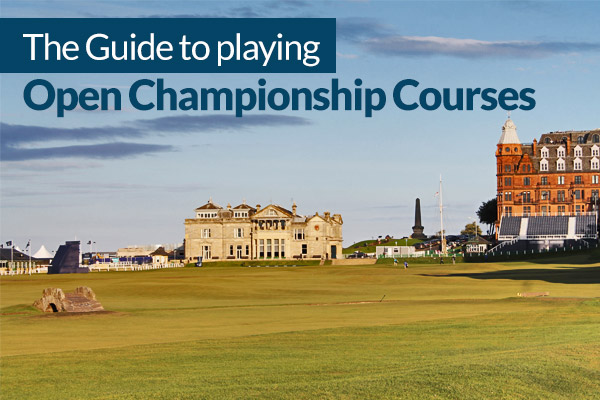 open championship golf courses