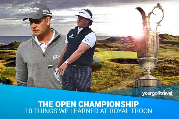 10 Things We Learnt from The Open Championship at Royal Troon