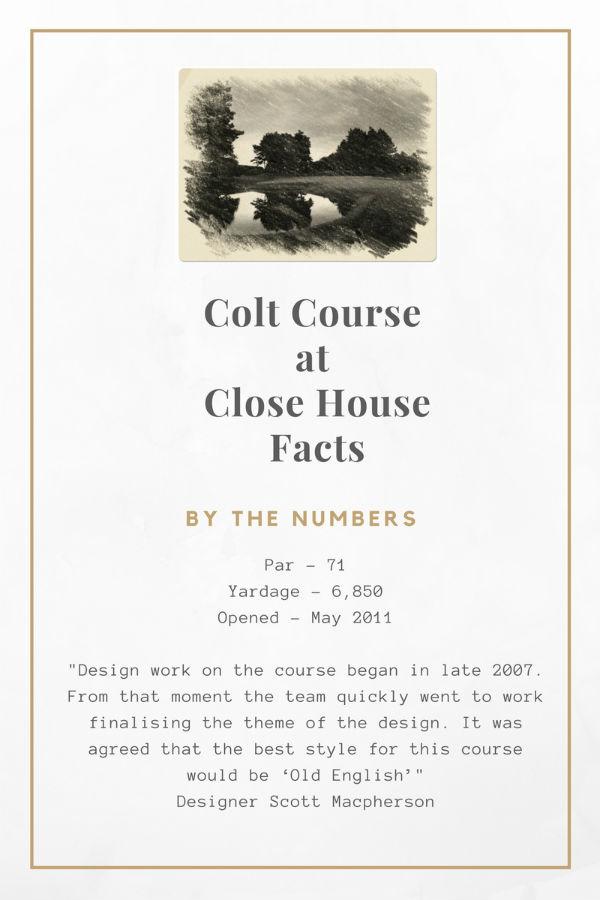 Colt Course Information