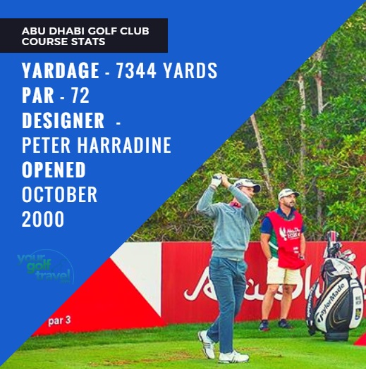 Abu Dhabi Course Stats