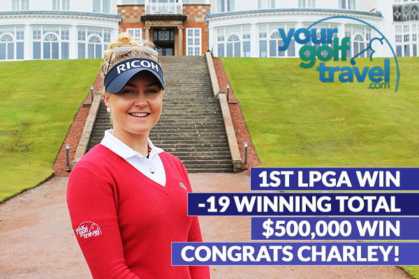Charley Hull Claims 1st LPGA Tour Victory at CME Group Tour Championship