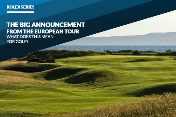 "Rolex Series – What you need to know about The Tour's ""most significant advancement in 44 years"""