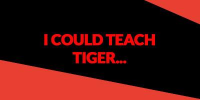 tiger woods coach