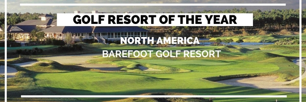 Golf Destination of the year - Barefoot Golf Resort