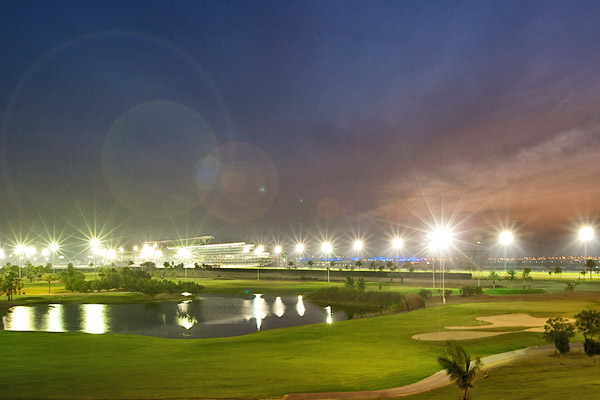 The Dubai World Cup with a side order of Golf