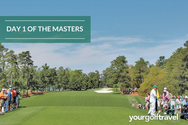 Thursday at the Masters: Day 1 round up