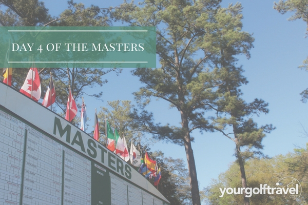Day 4 of the Masters: Garcia wins 1st Major