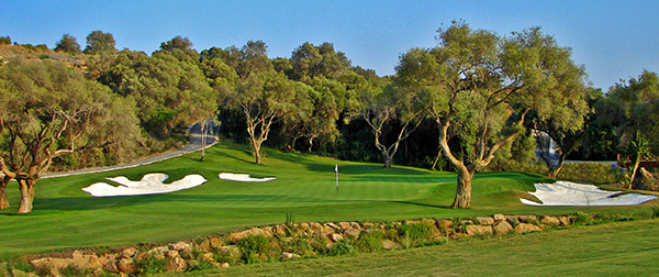 13th hole at Finca Cortesin