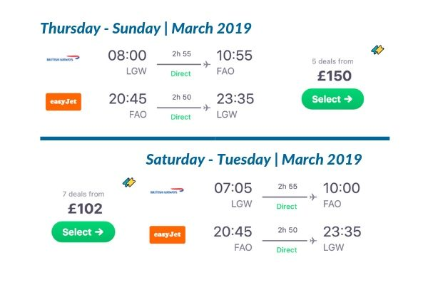 skyscanner march travel prices
