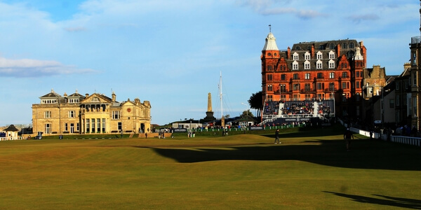 St Andrews 18th Old course