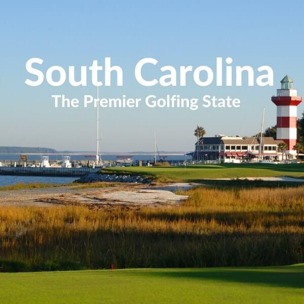 South Carolina premier golfing state