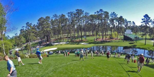 The Masters 16th Hole