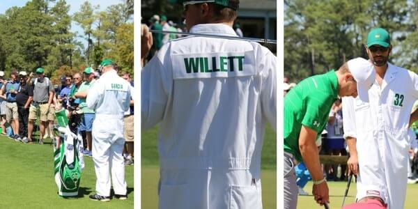masters caddies