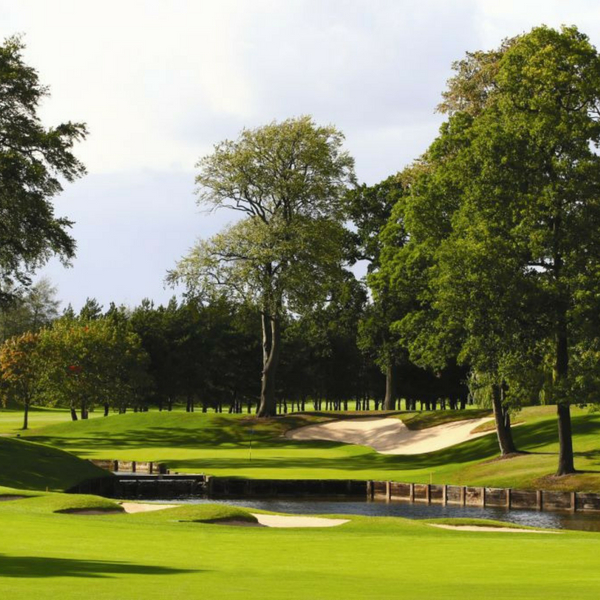 10th hole on brabazon course at the belfry