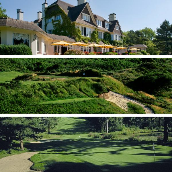 Le manoir, Le Touqet and golf d'hardelot